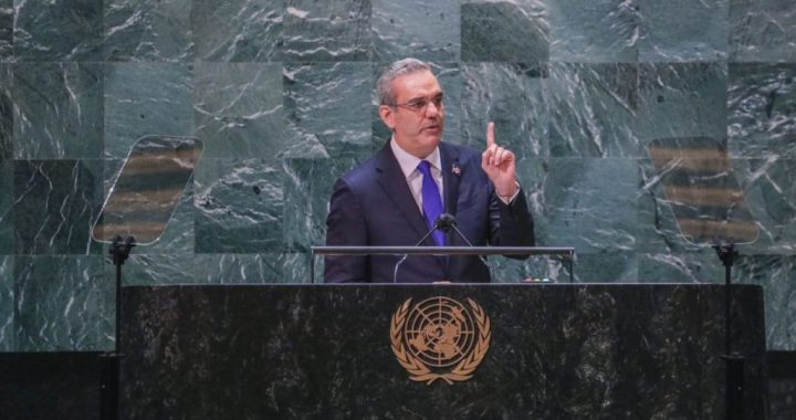 ABINADER ADVIERTE ONU «NO HAY NI HABRA JAMAS, UNA SOLUCION DOMINICANA A  LA CRISIS HAITIANA».