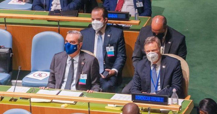 PRESIDENTE ABINADER ENCABEZA DELEGACION DOMINICANA APERTURA DEBATE GENERAL ONU.