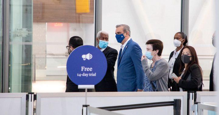 El Presidente Abinader llegó a Nueva York Asamblea ONU